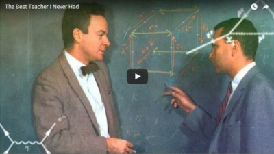Richard Feynman great teacher