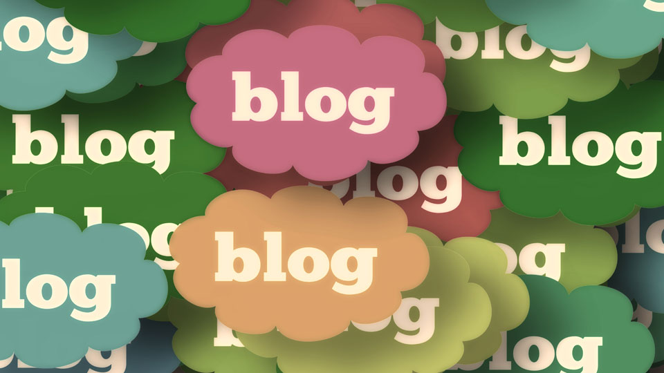 "Lots of ""blog"" clouds"