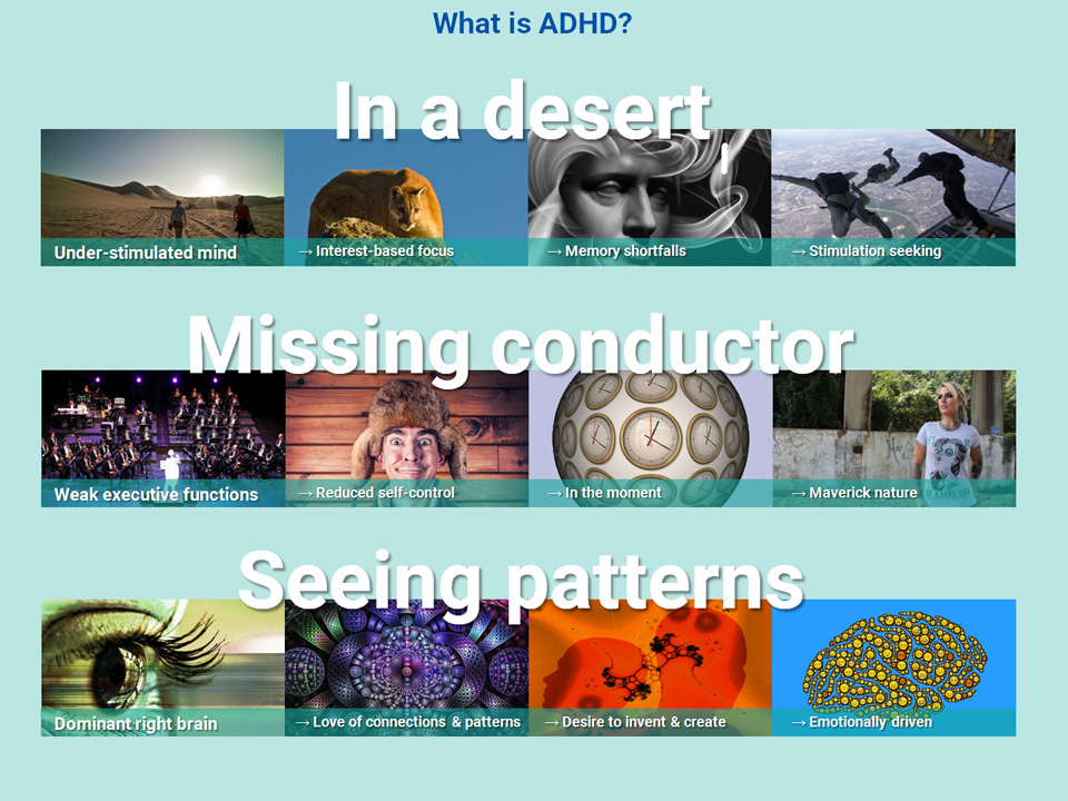 The integrated model of ADHD
