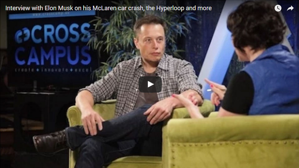 Elon Musk interview about Mars