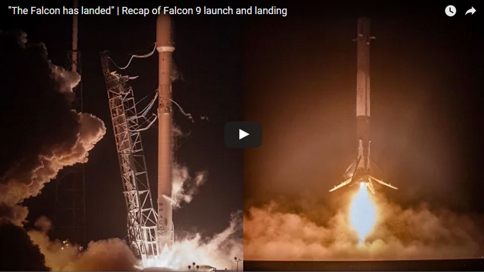 SpaceX Falcon has landed