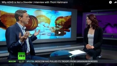 Thom Hartmann interview on ADHD